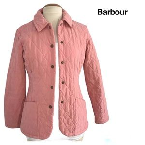Barbour quilted jacket Sz 4